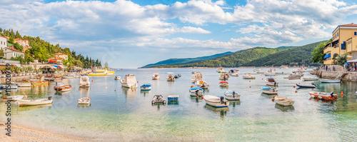 Photo Hafen von Rabac, Kroatien