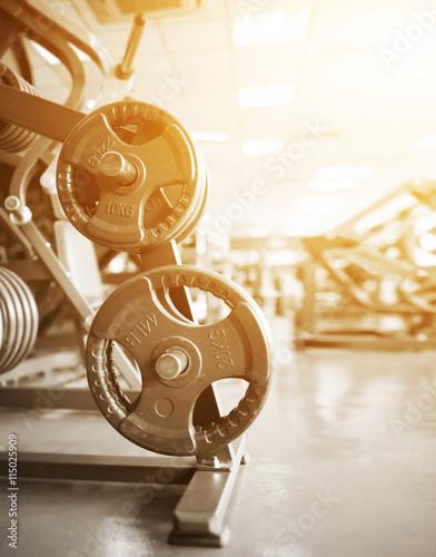 Fotografía  gym interior with equipment