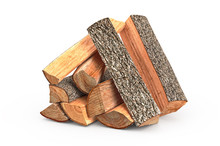 Firewood Stack Dry Chopped, Ob...