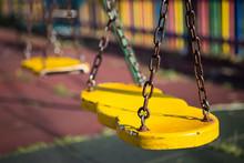 Yellow Swing Seats