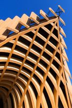 Modern Architecture In Glued Laminated Timber
