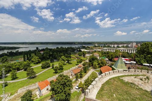 Fototapeta Belgrade fortress and panorama view obraz na płótnie