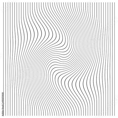 Fotografia, Obraz  illustration vector vertical lines with stripes pattern or background