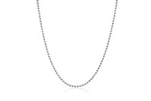 Sparkling Gold Moon Chain Necklace