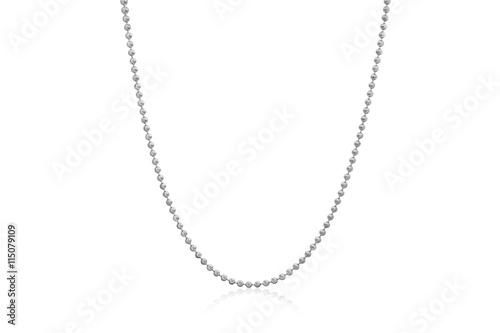 Fotografia Sparkling Gold Moon Chain Necklace