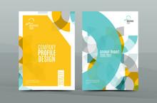 Geometric Mosaic Design, A4 Si...