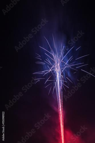 Fototapety, obrazy: Fireworks celebration