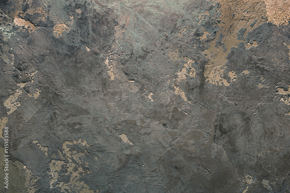Fototapety, obrazy: Vintage or grungy background of Venetian stucco texture as pattern wall.