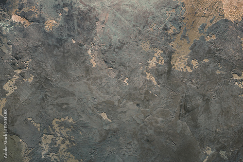 Fotografía  Vintage or grungy background of Venetian stucco texture as pattern wall