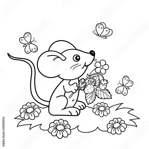 Cartoon Butterfly coloring page | Free Printable Coloring Pages | 500x500