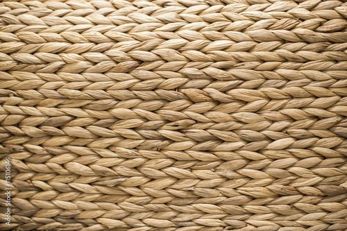 Fotografiet  Beautiful texture background of woven