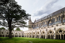 Cloister Of Salisbury Cathedral