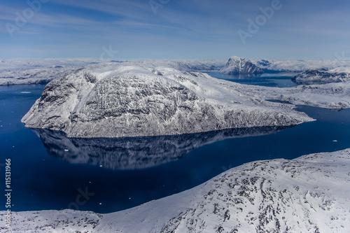 Fotografie, Obraz  Greenland inland ice