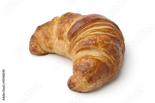 Spoed Foto op Canvas Brood Fresh baked croissant