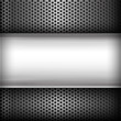 Polished steel texture on hold metal abstract background vector