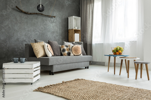 Fototapeta Functional home space ideal for two obraz