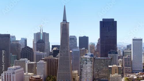 Staande foto Stad gebouw San Francisco downtown