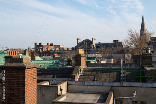 Photo  Skyline of Dublin City, Ireland