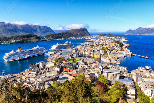 Obraz Norwegia - fototapety do salonu