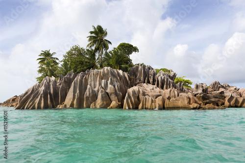 Foto op Canvas Tropical strand St. Pierre island, Seychelles