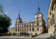 City Hall, Plaza Del Ayuntamiento, Toledo, Castile-La Mancha, Spain