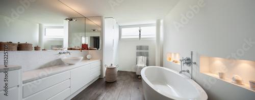 Fotografia, Obraz  Interior, comfortable bathroom