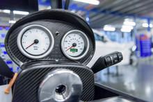 Speedometer Detail In Racing C...