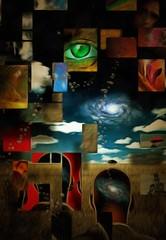 Obraz na Szkle Abstrakcja Human Mind