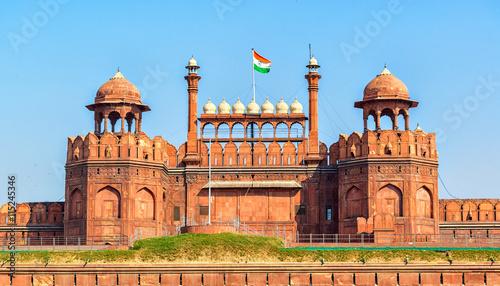 Lal Qila - Red Fort in Delhi, India Slika na platnu