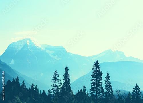 Aluminium Prints Mt.Robson
