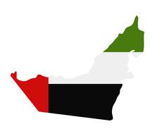 Map Of United Arab Emirates Wi...
