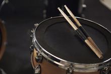 Close Up Of Sticks Resting On ...
