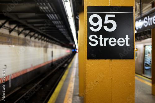 95th Street Subway Station in New York City.
