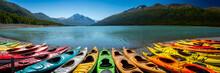 Eklutna Lake In Alaska