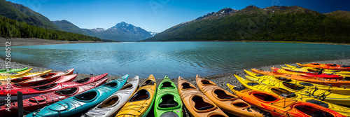 Photo Eklutna Lake in Alaska