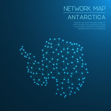 Antarctica Network Map. Abstra...