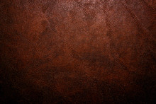 Old Vintage Dark Brown Leather Background And Texture; For Horror Game Or Scary Halloween Poster
