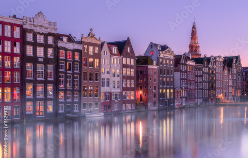 Photo  Twilight in Amsterdam