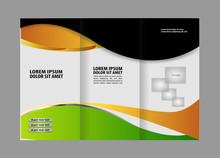 Brochure Design Template Color...