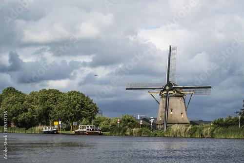 Printed kitchen splashbacks Swan Molen de Zwaan Oudekerkerdijk Ouderkerk aan de Amstel The Netherlands