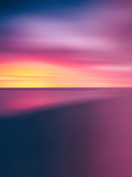 Vertical vivid pale sunset abstraction - 115313982