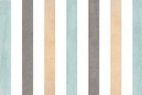 Watercolor beige, gray and blue striped background. - 115318117