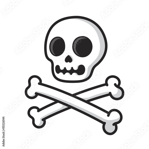 Photo  Skull and crossbones