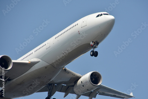 Foto op Aluminium Luchthaven Airplane Landing