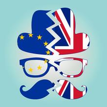 Brexit Concept. British Invisi...