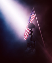 3D Fallen Soldier Tribute