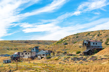 View Of A Ghost Town Near Red Lodge, Montana