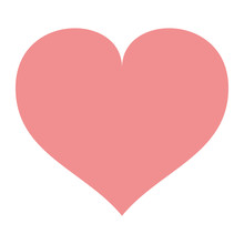 Love Heart Shape Romantic Icon...