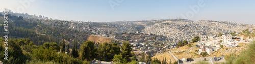 Fotobehang Midden Oosten Large panorama of Jerusalem