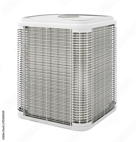 Central air conditioner Canvas Print